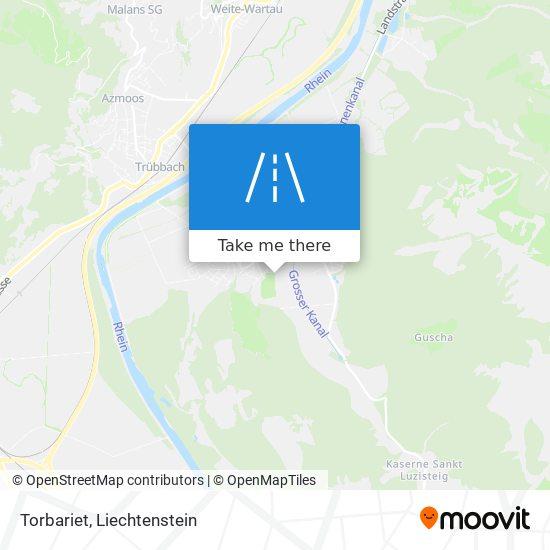 Torbariet map