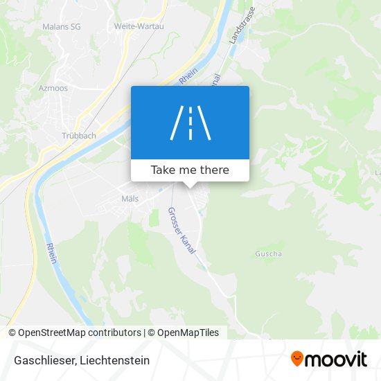 Gaschlieser map