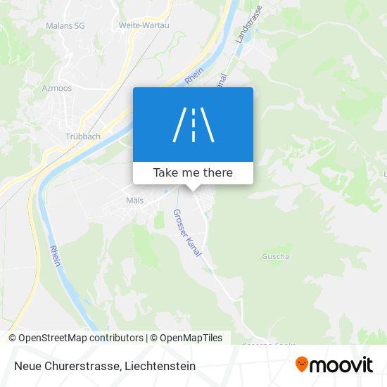 Neue Churerstrasse map
