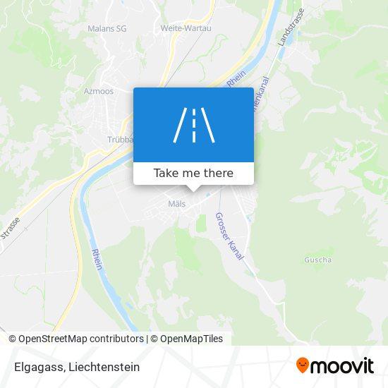 Elgagass map