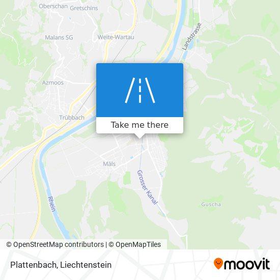 Plattenbach map