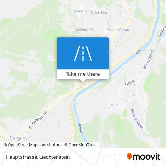Hauptstrasse map