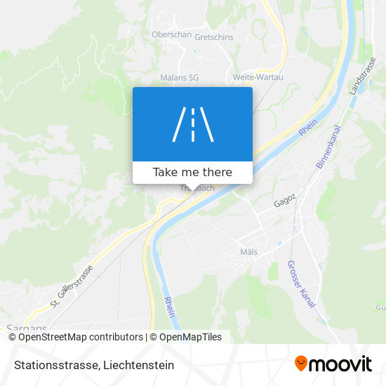 Stationsstrasse map