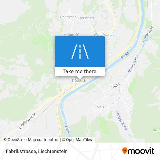 Fabrikstrasse map
