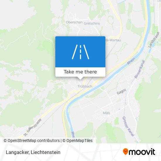 Langacker map
