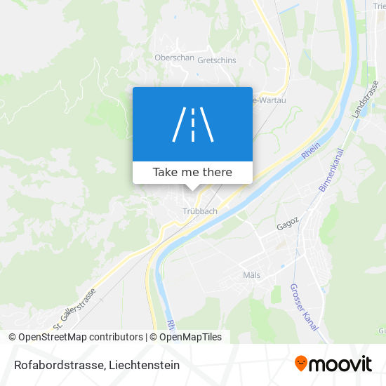 Rofabordstrasse map