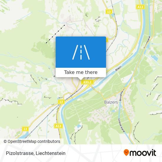 Pizolstrasse map