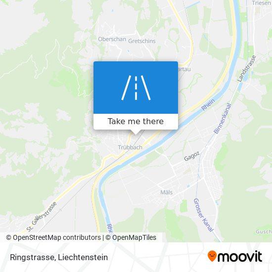 Ringstrasse map