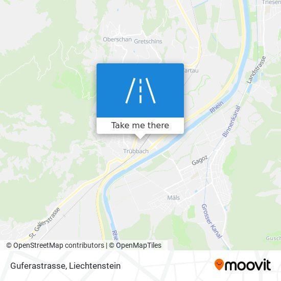 Guferastrasse map