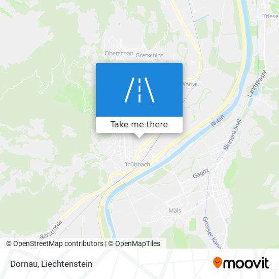 Dornau map