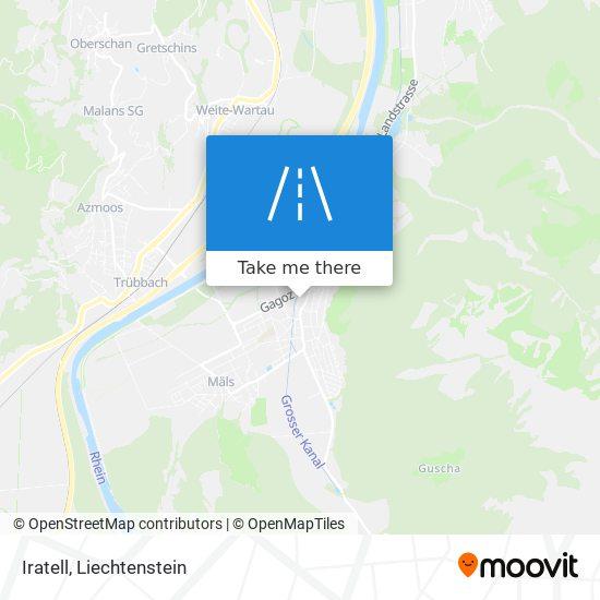 Iratell map