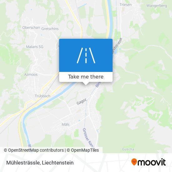 Mühlesträssle map
