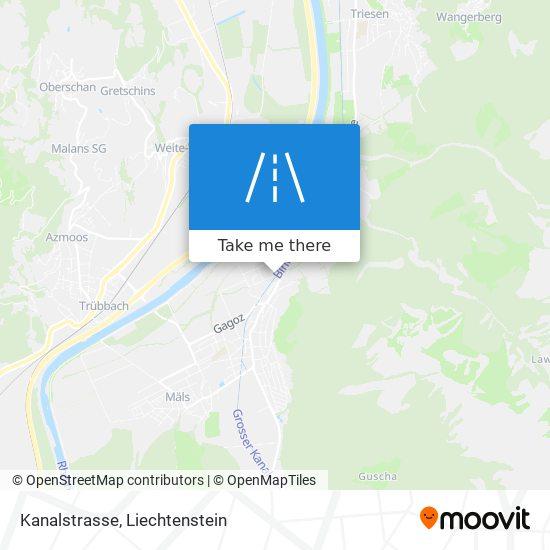 Kanalstrasse map