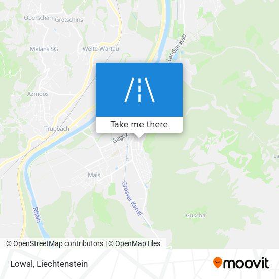 Lowal map