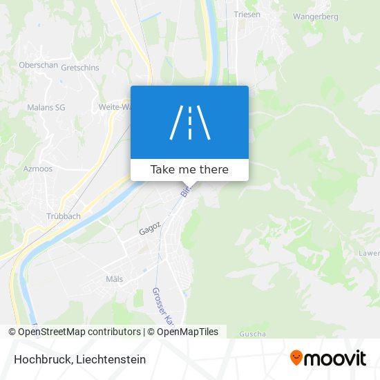 Hochbruck map