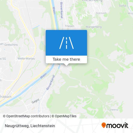 Neugrüttweg map