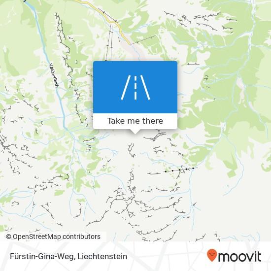 Fürstin-Gina-Weg map