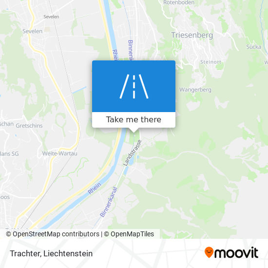 Trachter map