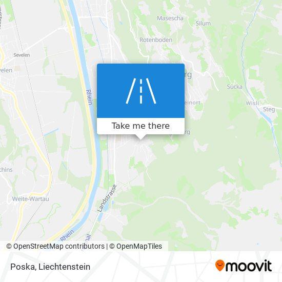 Poska map
