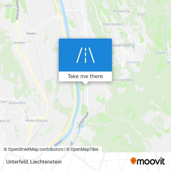 Unterfeld map