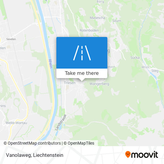 Vanolaweg map