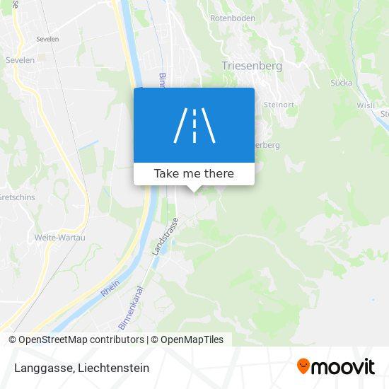 Langgasse map