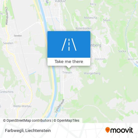 Farbwegli map