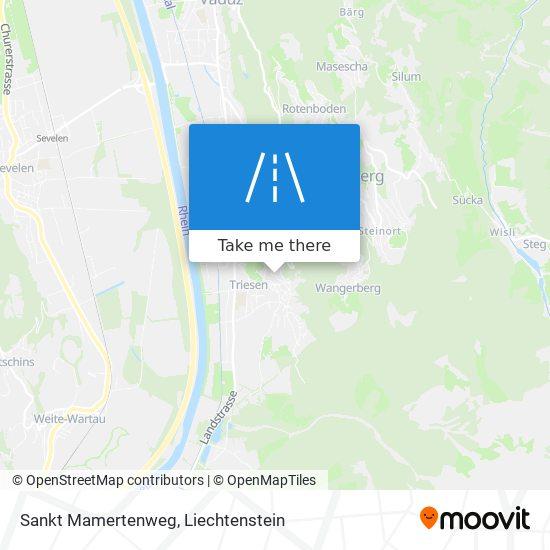 Sankt Mamertenweg map
