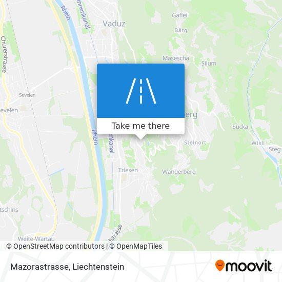 Mazorastrasse map