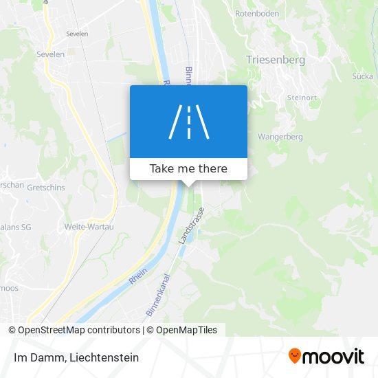 Im Damm map