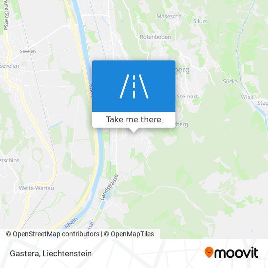 Gastera map
