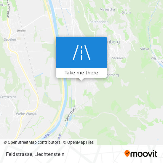 Feldstrasse map