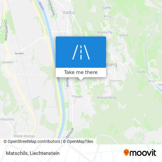 Matschils map