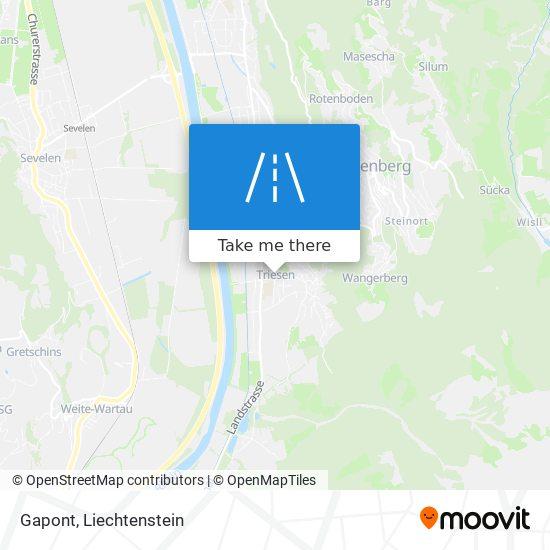 Gapont map