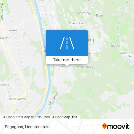 Sägagass map