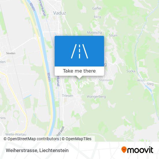 Weiherstrasse map