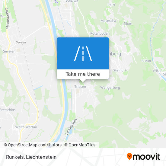 Runkels map