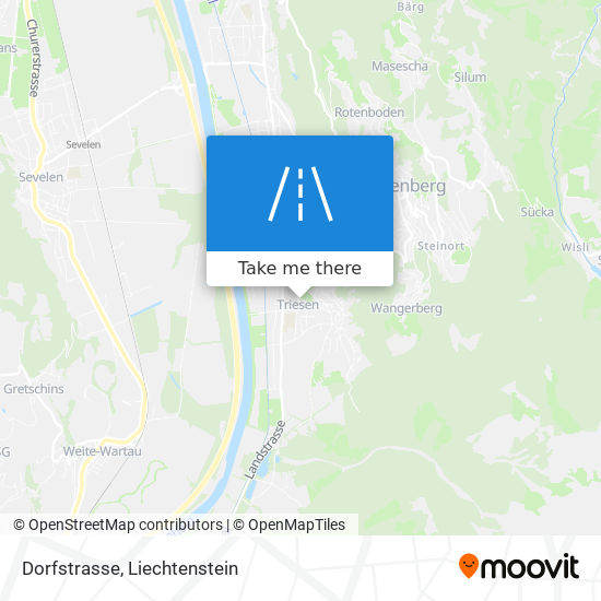 Dorfstrasse map