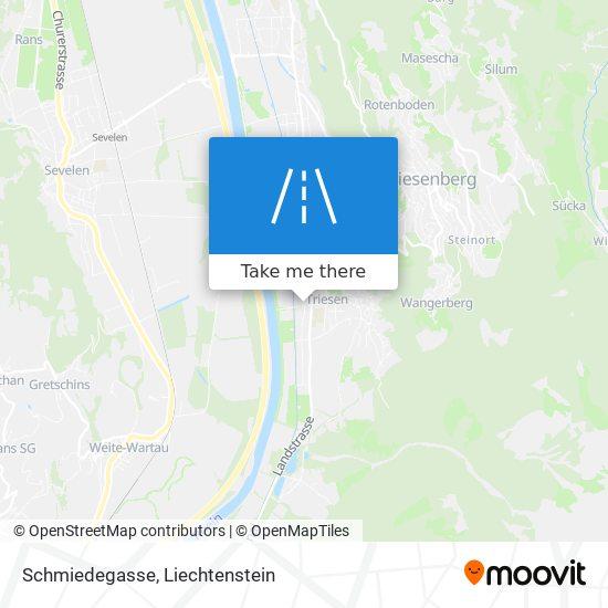 Schmiedegasse map