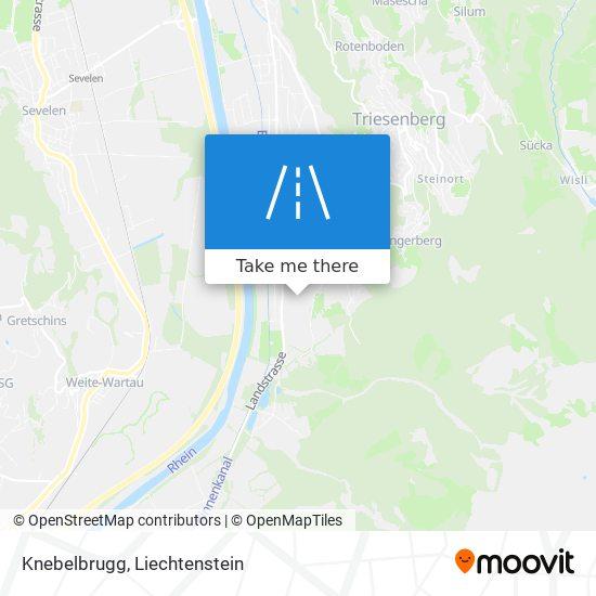 Knebelbrugg map