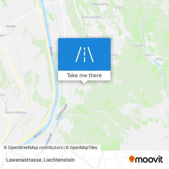 Lawenastrasse map