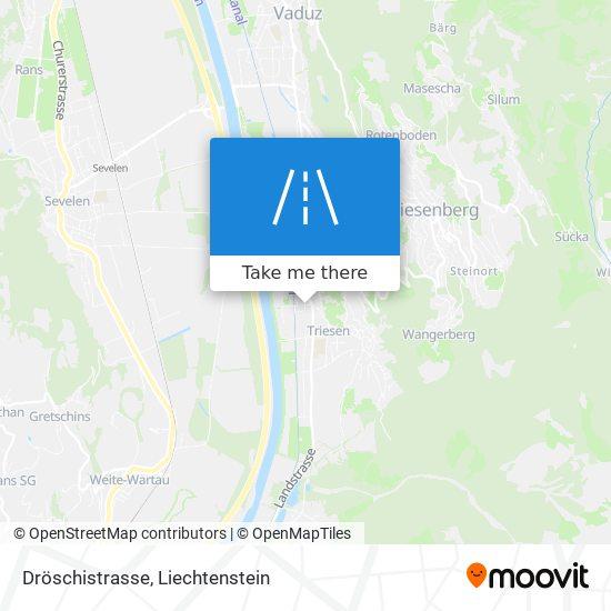 Dröschistrasse map