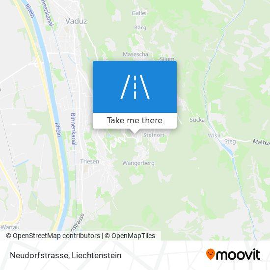 Neudorfstrasse map