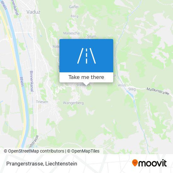 Prangerstrasse map