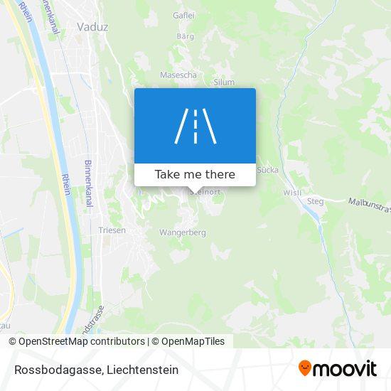 Rossbodagasse map