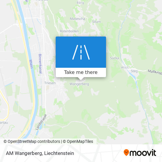 AM Wangerberg map