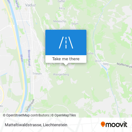 Matteltiwaldstrasse map