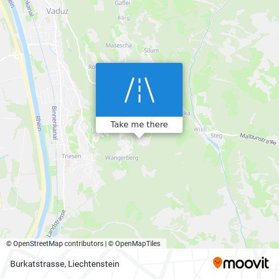 Burkatstrasse map