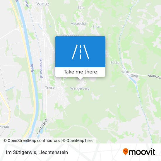 Im Sütigerwis map