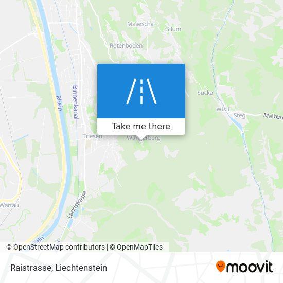 Raistrasse map